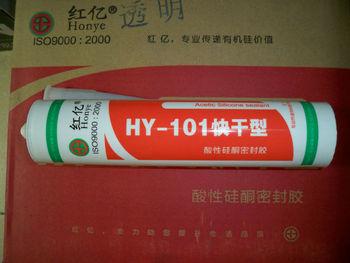 Red billion brand HY101 type quick dry acidic silicone sealant  ceramic installation, ceramic tile adhesive