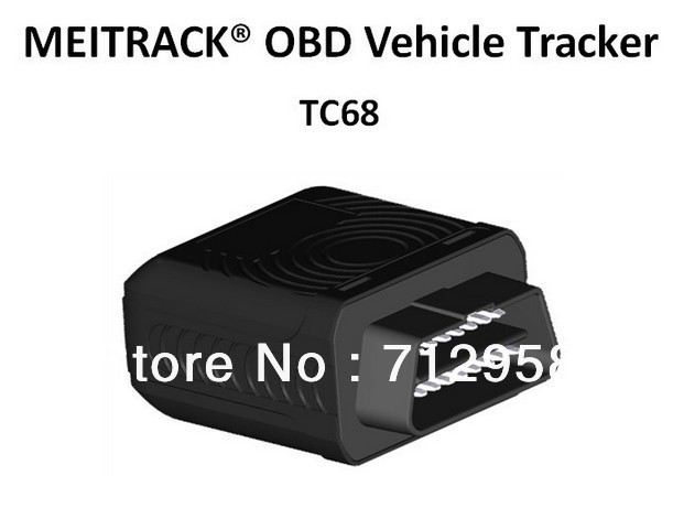Realtime GSM GPRS GPS Tracker OBD II car gps tracking system TC68 meitrack GPS