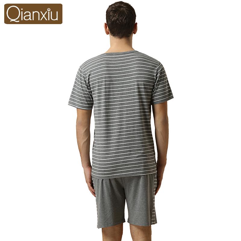Мужская пижама Qianxiu Pajams Homedress 1305