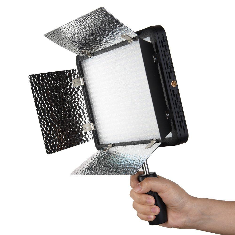 Godox LED500LR/W LED Video Light 5600K White Version w/ Reflectors & Remote Control For Studio Photography Video Recording(China (Mainland))
