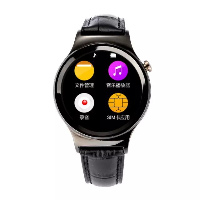 original T3 IPS circular disk Support SIM card Bluetooth Smart Watch WristWatch Passometer for Android phone ios iphone 6 6s<br><br>Aliexpress