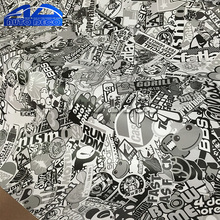 Buy Black White Sticker Bomb Doodle Stickers Decals Skateboard Graffiti Snowboard Motorcycle Bicycle Luggage Bags Vinyl Accessories for $9.35 in AliExpress store