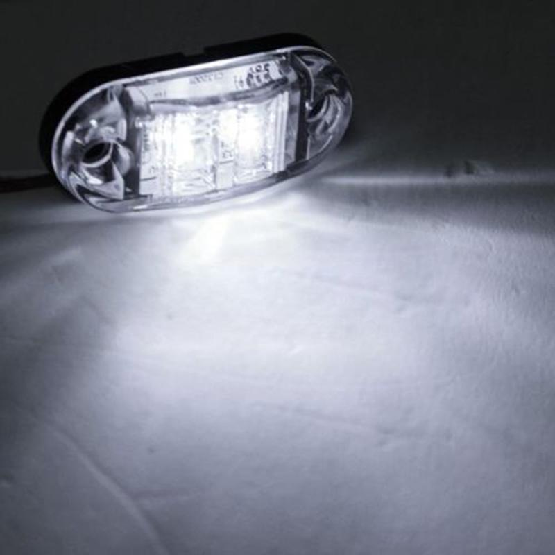 12V 24V E-marked DOT for Car Truck Trailer LED Side Marker Light Clearance Lamp Side Turn Signals(China (Mainland))