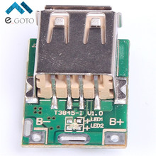 Buy 10pcs 5V Step-Up Power Module Lithium Battery Charging Protection Board Boost Converter LED Display USB DIY Charger 134N3P for $4.27 in AliExpress store