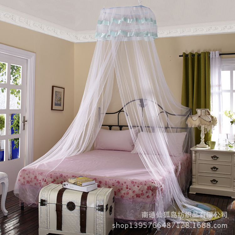 hanging mosquito netThe domed mosquito net hanging type mosquito net floor palace Princess special wholesale direct marketingD70(China (Mainland))
