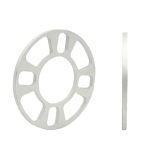 Professional Wheel Spacer Adapter 4 Hole 8mm Aluminum Wheel Fit 4 Lug 4x101.6 4x108 4x112 4x114.3 Car Styling Accessories(China (Mainland))