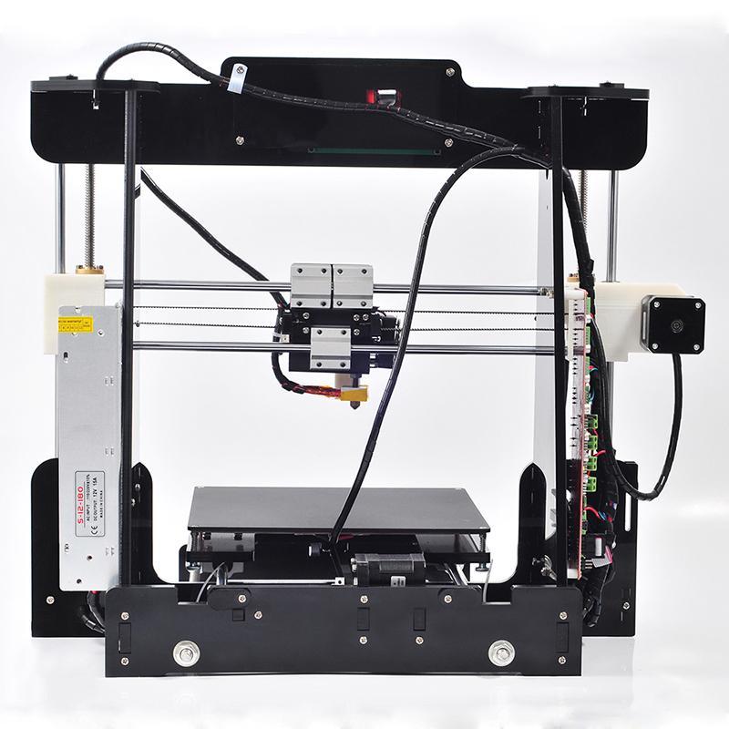 High Precision Reprap Prusa i3 DIY 3d Printer kit with 1 Roll Filament 16GB SD card