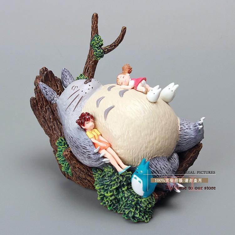 Гаджет  Free Shipping Hayao Miyazaki Totoro PVC Action Figure Toy MHFG006 None Игрушки и Хобби