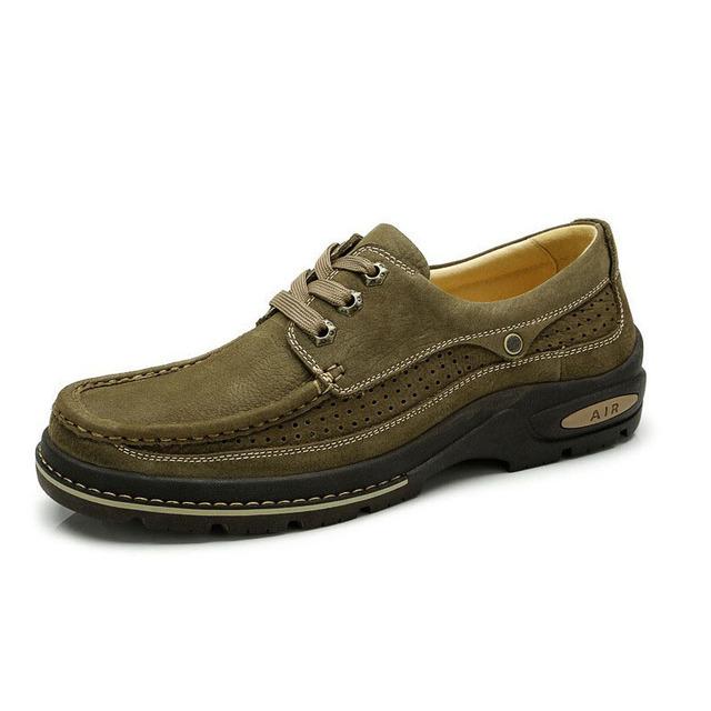 Мужская обувь из натуральной кожи бизнес мокасины квартиры люксового бренда мужской ...