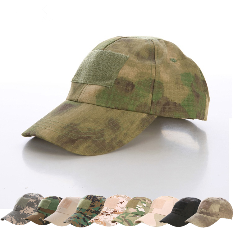 Hiking male hat Summer camping man's Camouflage Tactical hat military hats army Fishing bionic Baseball cadet Military cap(China (Mainland))