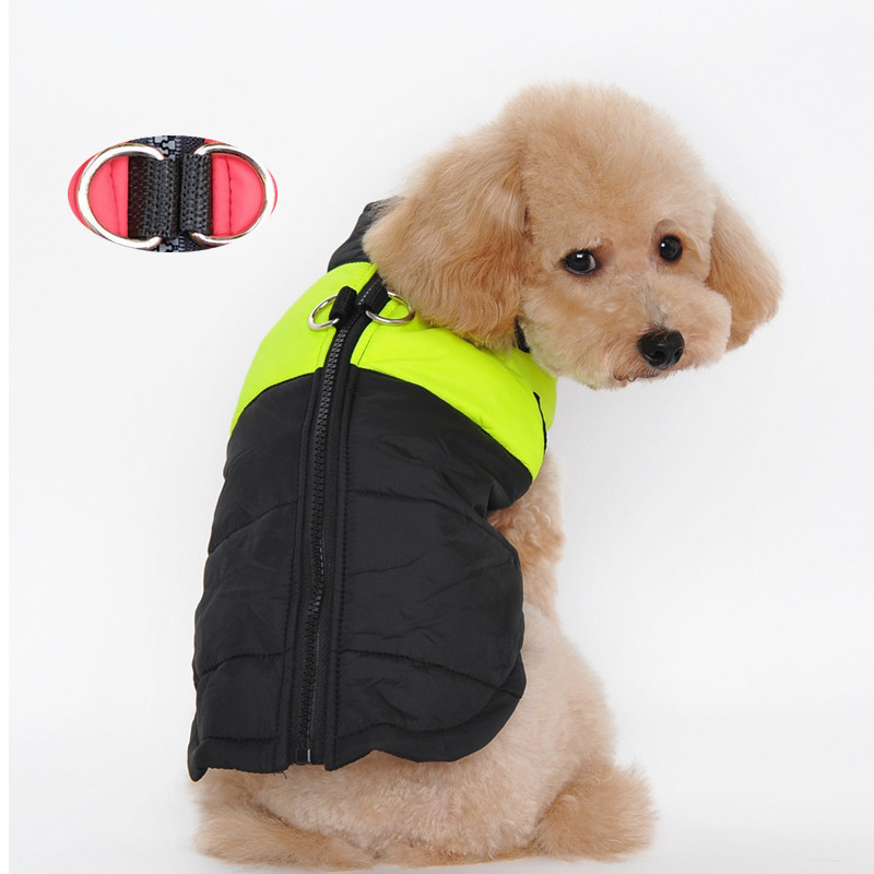 2016 New Winter Warm Pet Dog Clothes Small Waterproof Dog Coat Jacket Winter Quilted Padded Puffer Pet Clothes(China (Mainland))