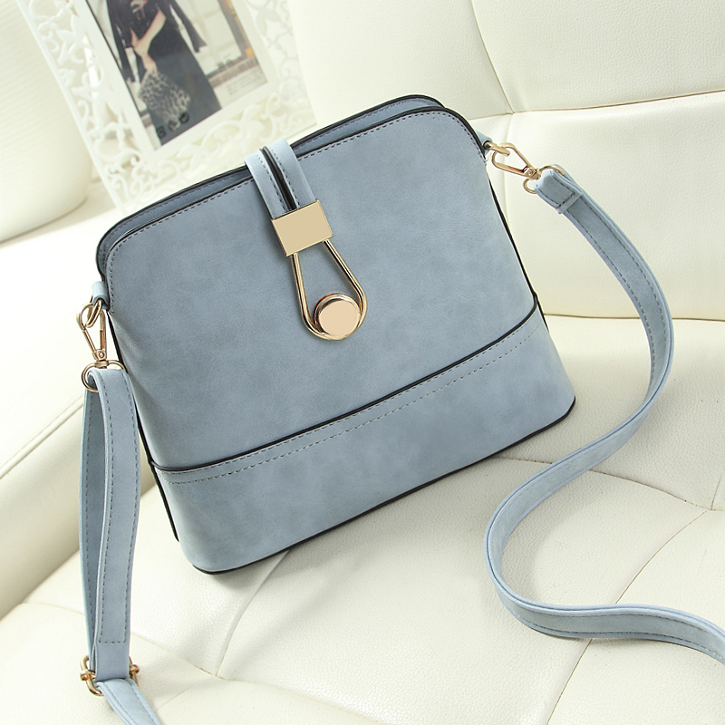 01a58e7b6bdc Wholesale Women Bag Handbags Over Shoulder Crossbody Sling Summer Leather  Messenger Scrub Shell Lock Fashion Small Ladies Luxury Brand Cheap Bags  Cute ...