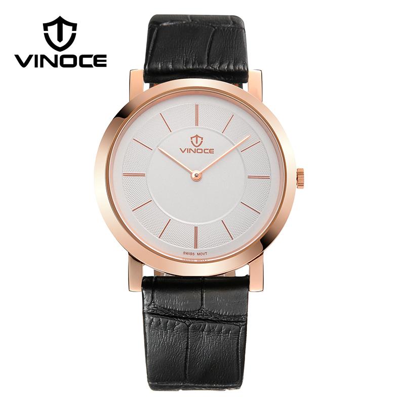 VINOCE Mens Watches Top Brand Luxury Classic Ultra-thin Wristwatches Relogio Masculino Fashion Business Quartz Watch Men V8350G(China (Mainland))