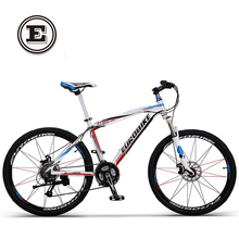 Buy EUROBIKE hydraulic disc brake alloy frame mountain bike 27 speed 26 inch wheel complete bicycle for $516.60 in AliExpress store