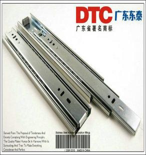 Ball three rail track drawer slide rail track best domestic rail(China (Mainland))