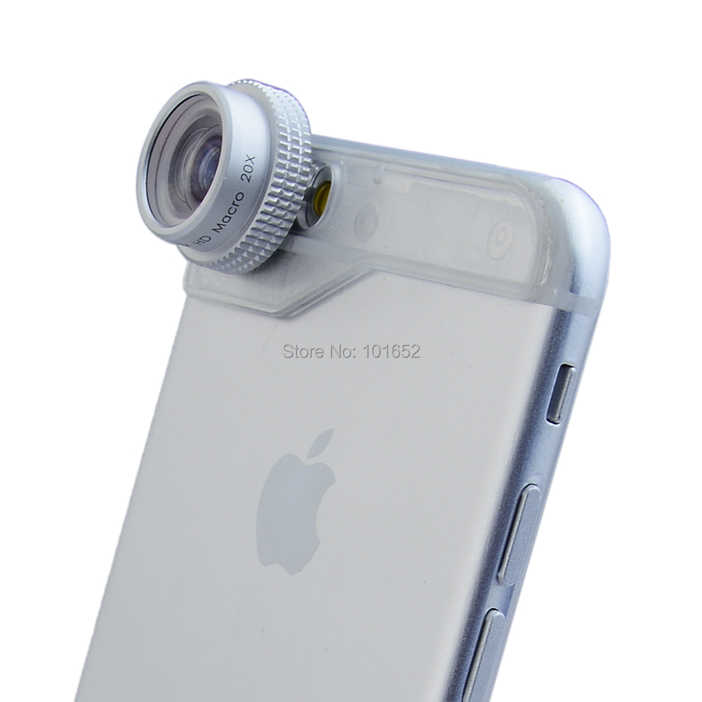Evileye 20X Macro lens for iPhone 6plus Mobile Phone Camera Lenses for iphone 6+ Lens 20X
