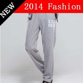 2015 nouveau automne mode hip hop dance pantalons larges hommes coton casual pantalons de survêtement automne parkour pantalons pour hommes vêtements 0924 K(China (Mainland))
