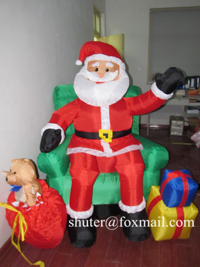 Christmas products / inflatable Christmas items / Inflatable Christmas decorations / party decoration / Santa Clause(China (Mainland))