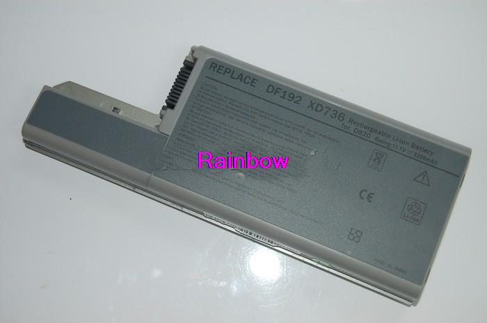 5200mAh Laptop Battery For Dell Latitude D820 D531 D531N D830 Precision M4300 M65 310-9122 312-0393 312-0401(China (Mainland))