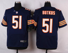Top quality For Mens,Dick Butkus Brian Urlacher Leonard Floyd Mike Ditka Elite Rush Free Shipping stitched Bear Customized(China (Mainland))