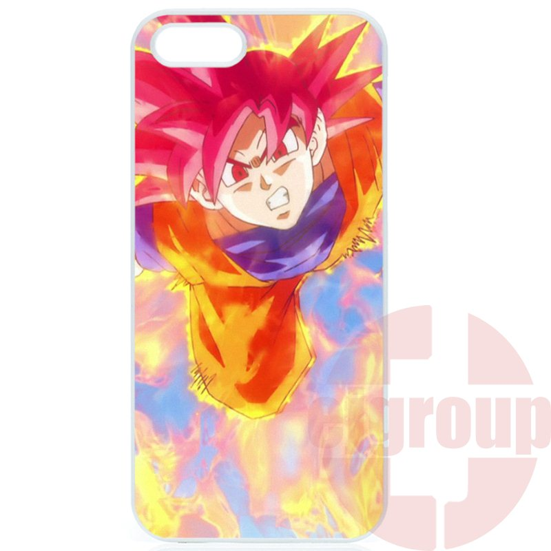Apple iPhone 4 4S 5 5C SE 6 6S 7 7S Plus 4.7 5.5 iPod Touch 4 5 6 Coque Case Capa dragon ball z broly gt super saiyan