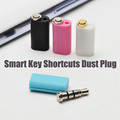 3 5MM Earphone Jack Smart Key Shortcuts Dust Plug Quick Button for Samsung Galaxy Millet note