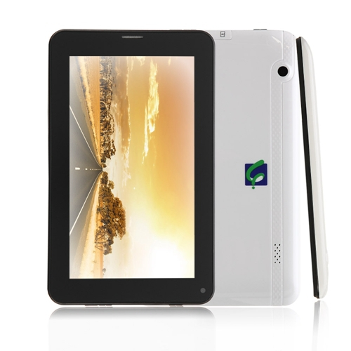 Free shipping iRulu 7 Android4 2 2G GSM Smart Phone Dual Core 8G Tablet Green with