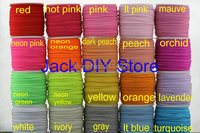 """32colors 50 Yards/roll 1/8"""" Skinny Elastic for headband Hair Accessories Free Shipping YOU PICK 3 COLORS"""