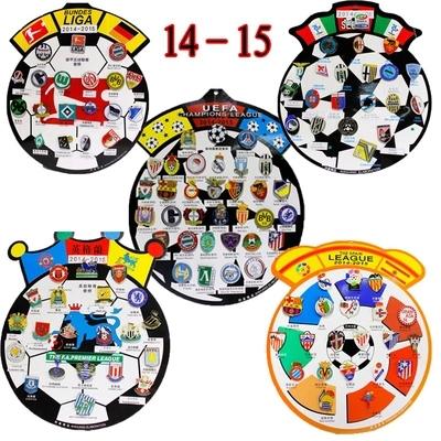2015 2016 football souvenirs badges newest la liga - Bundesliga premier league table ...