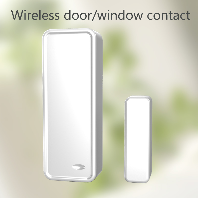 wireless door sensor/window contacts for LED Touch Screen GSM/WiFi GS-G90B Wireless GSM Home Security Alarm System free shipping<br><br>Aliexpress