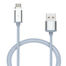 Buy Nylon 3 1 Magnetic Micro USB Adapter Lightning Sync Wire Data Cable Fast Charging iphone Android ipad ipod P16 for $1.77 in AliExpress store