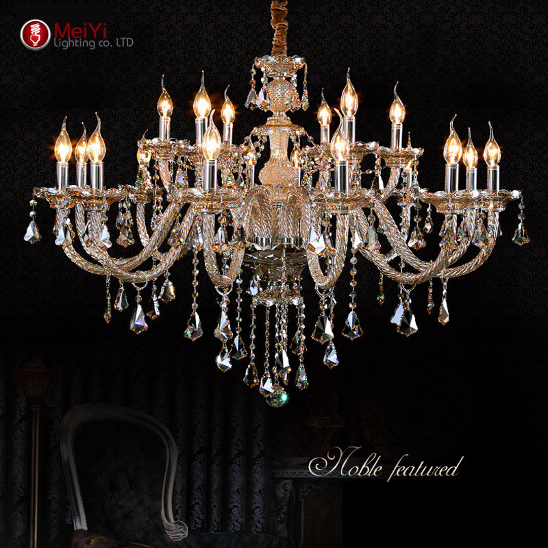 Tiffany Chandeliers And Pendant Living Room Lamps Lighting Modern Crystal Cha