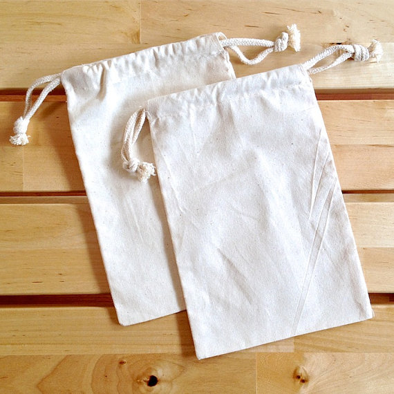 """17.5""""x25"""" Gift Pouch, Cotton Pouch, Drawstring Pouch(China (Mainland))"""