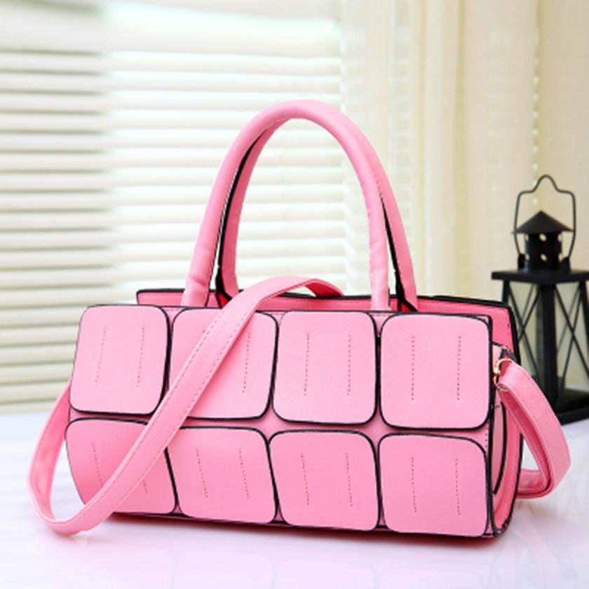2015 Brand Leather Messenger Bags Casual Tote Women's Handbag Crossbody Ladies Bag Women Crossbody Bag(China (Mainland))