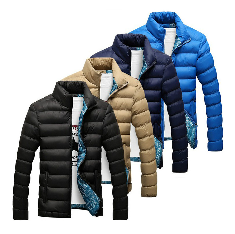 Winter Jacket Men 2016 New autumn Men's Cotton Blend Mens Jacket And Coats Casual Thick Outwear For Men Plus Clothing Male 4XL(China (Mainland))