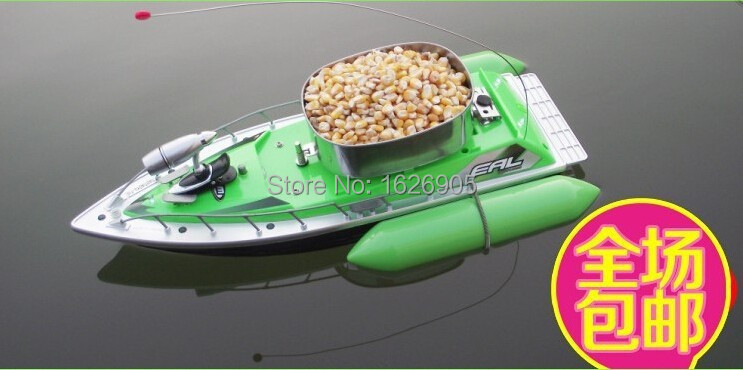 FREE SHIPPING Mini RC Bait Fishing Boat 200M Remote Fish Finder Boat Fishing Lure Boat 5 - 8 Hour(China (Mainland))