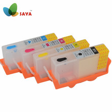 NEW For HP 655 hp655 Refillable Ink Cartridges with Chip on Deskjet 3525 4615 4625 5525 6525 New High quality Version