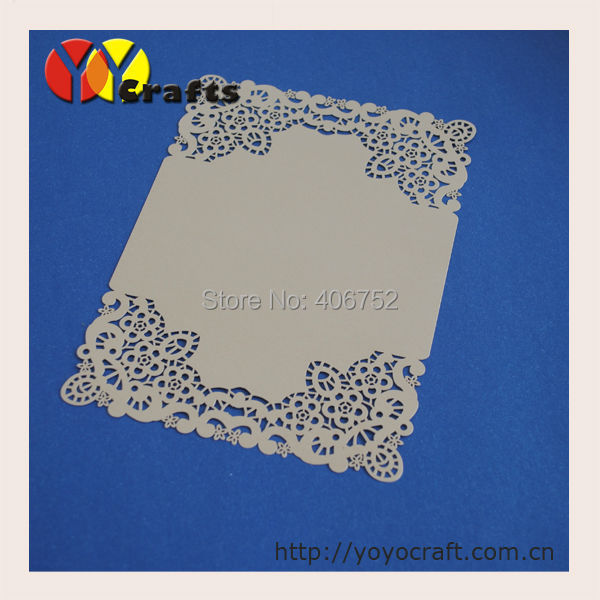 menu card for wedding,laser cut table menu card for restaurant with printing service(China (Mainland))