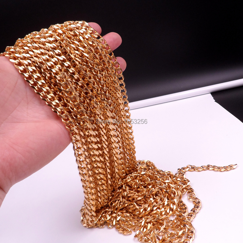 3meters Stainless Steel 0.25mm Thin Beading Cable Chain for DIY Jewelry Making