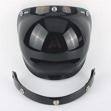 Cermin 3-Foto Vintage Retro Jet Sepeda Motor Helm Perisai Gelembung Visor Perisai Lensa Kaca Beon TORC GXT Wajah Terbuka helm Kacamata(China)