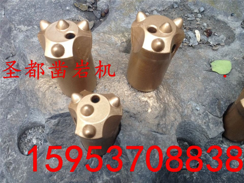 high quality Q4 40mm taper button bit mining ,40mm 11degree taper rock button bit for ore drilling(China (Mainland))