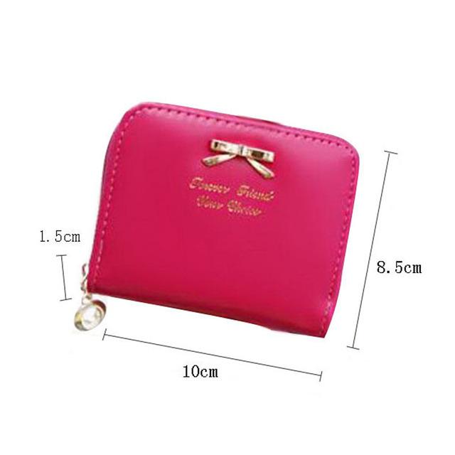 Кожаные портмоне плюшевые Monederos Mujer Monedas милый небольшое изменение кошельки ...