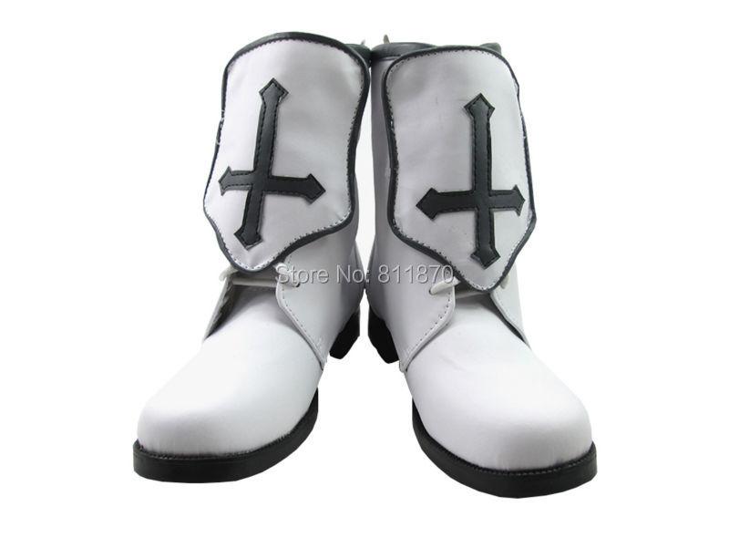 Sword Art Online Season One Cosplay Yuuki Asuna Women's Shoes Short Boots