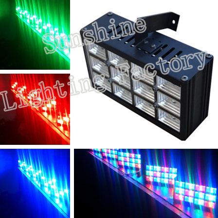 Hot 12w RGB LEDs Stage Light Mega Quadpar Profile ,led Par Can Stage Lighting(China (Mainland))