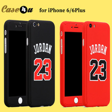 For iPhone 6s Basketball Player Plastic Hard Phone Case Jordan Bryant Curry 360 Degree Full Body Case Cover for iPhone 6 6plus