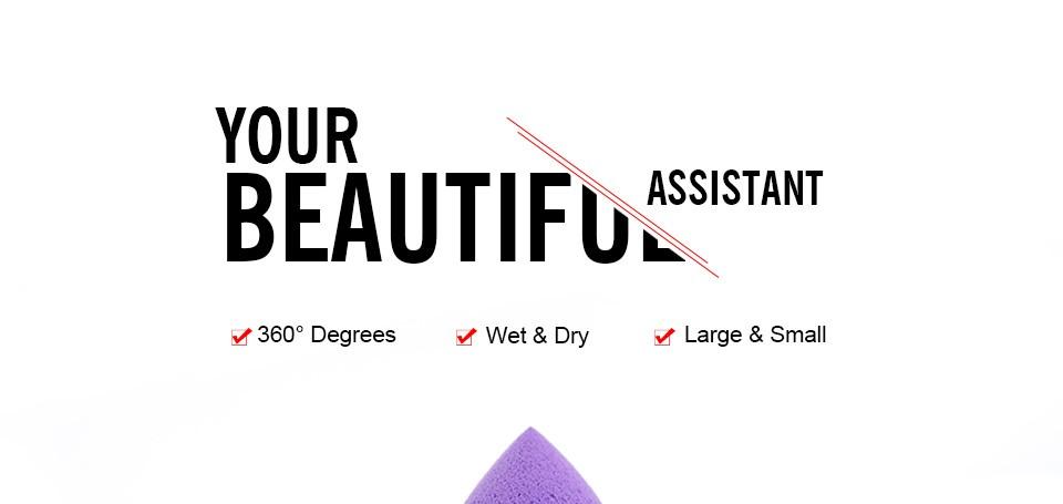 Atacado 1 pc Maquiagem Fundação Esponja de Maquiagem Cosméticos puff Flawless Pó Suave Beauty Cosméticos compõem ferramentas de beleza esponja