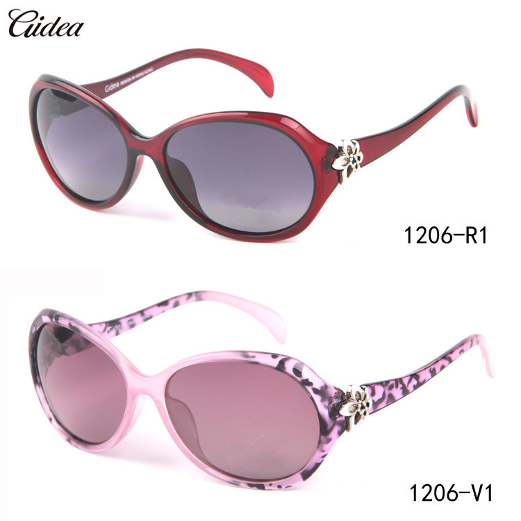 Large Frame Ladies Glasses : Retro Large Frame Polarized Sunglasses Women Brand ...