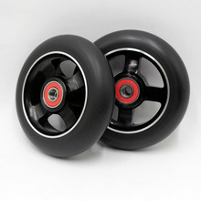 Buy 10 wheels! Big discount! 100 mm 88a stunt scooter wheels/ABEC-9 bearings/scooter wheels for $75.00 in AliExpress store