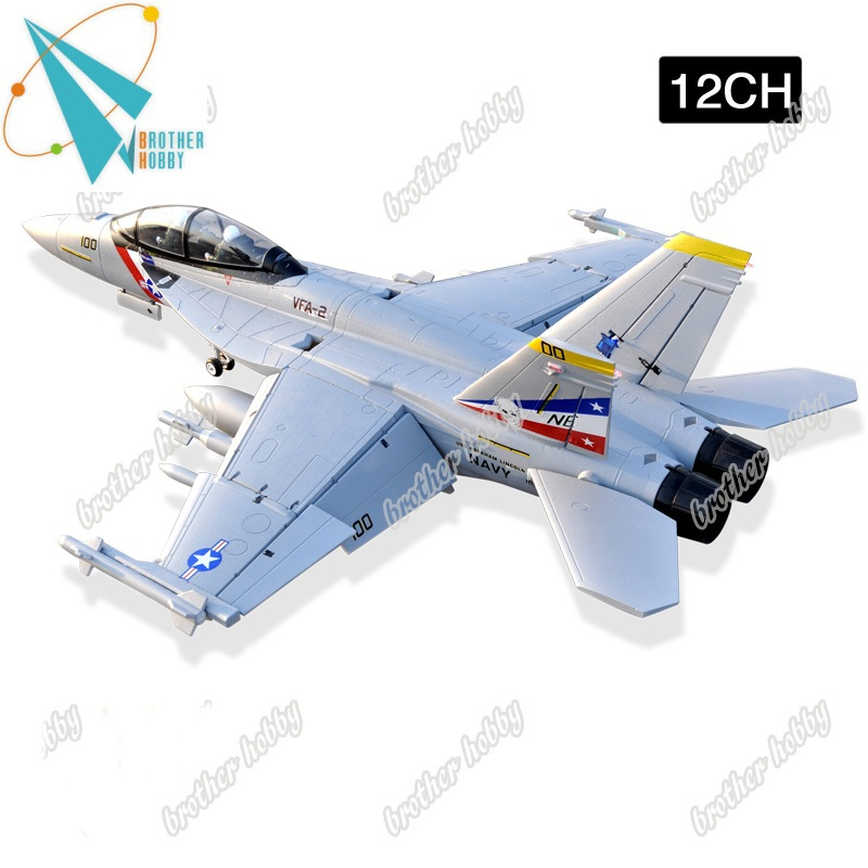 RTF F-18 Jolly Roger 12CH Electric EPO foam giant scale rc model airplane EDF Jet(China (Mainland))