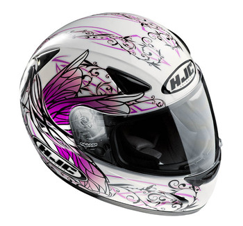 Free shipping 2013 models * HJC motorcycle helmet * Full Face Helmet * HJC CS-14 angel beauty